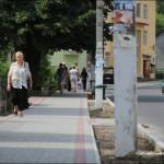 Новий тротуар