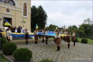 Старосамбірські пластуни