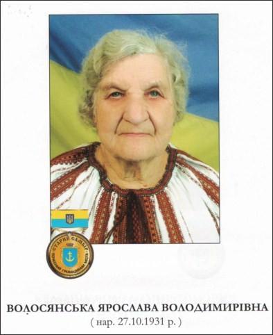 Волосянська Ярослава Володимирівна