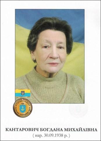 Кантарович Богдана Михайлівна