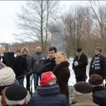 Відкриття пам'ятника жертвам сталінських репресій