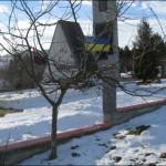 Будівництво огорожі біля пам'ятника героям УПА
