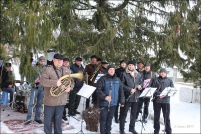 Старосамбірський духовий оркестр. Зустріч Вифлеємського вогню
